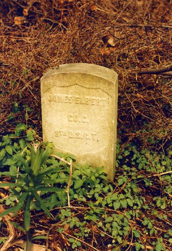 Gravestone of James Elbert